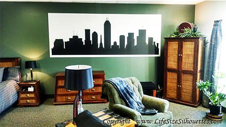 Madison Wisconsin SKYLINE DECALS Wall Decor Sports - Custom vinyl decals madison wi